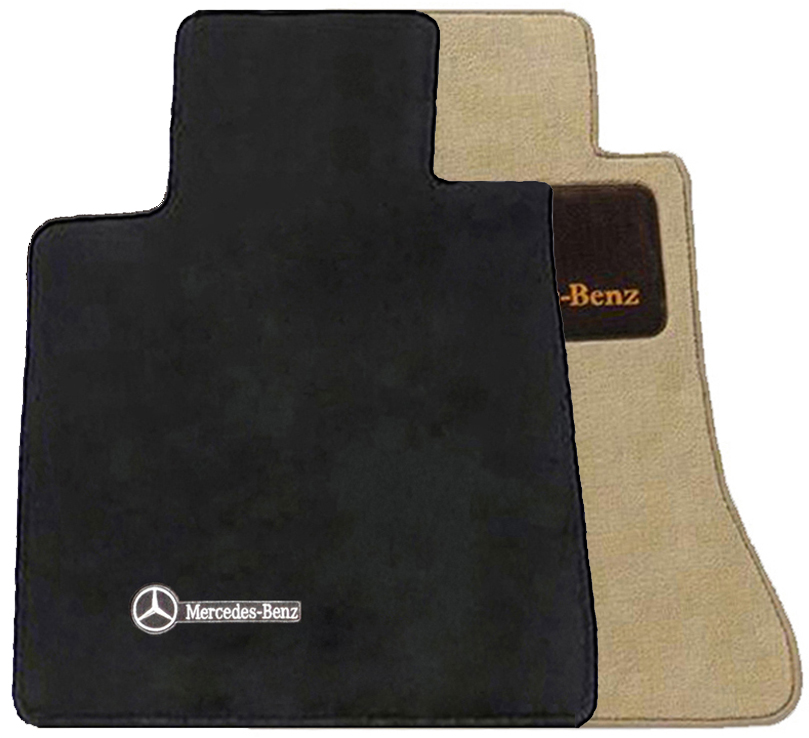 Mercedes benz genuine oem carpeted floor mats e class 1986 for Mercedes benz e350 floor mats