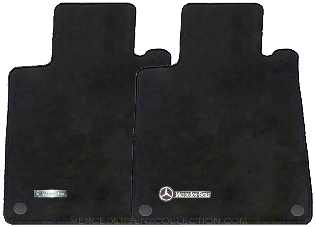 details about mercedes benz oem carpeted floor mats clk class coupe. Cars Review. Best American Auto & Cars Review