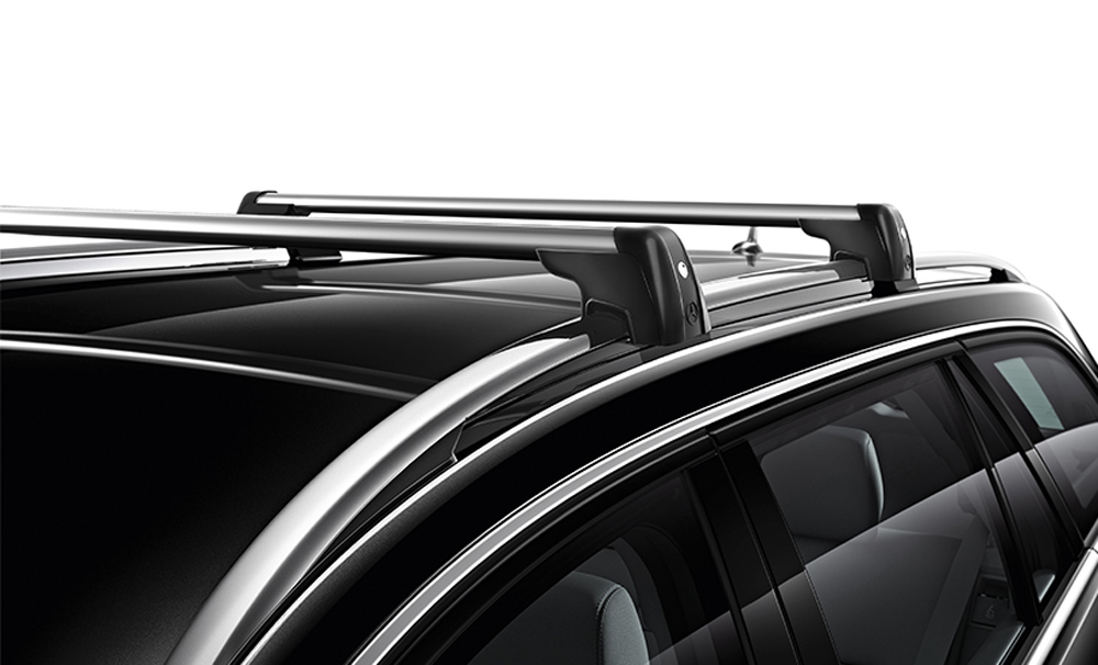 Mercedes oem roof rack cross bars basic carrier glk class for Mercedes benz roof rails