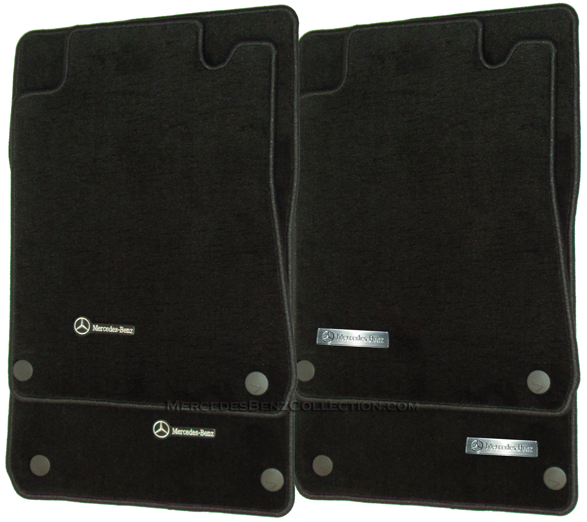 mercedes benz genuine oem carpeted floor mats c class rwd 2001 to 2007. Cars Review. Best American Auto & Cars Review