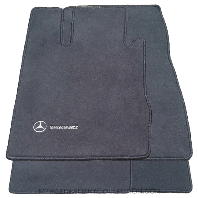 mercedes benz genuine oem carpeted floor mats s class